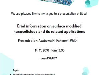 Invitation dr.  Asabuwa N. Fahanwi, Ph.D.