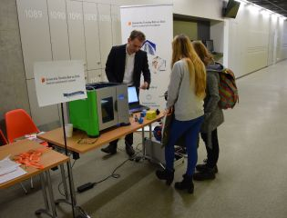 Centre of Polymer Systems in the Open Days